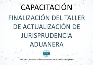 2020 05 08 PLACA FINALIZACIÓN DEL TALLER DE ACTUALIZACION JURISPRUDENCIA ADUANERA