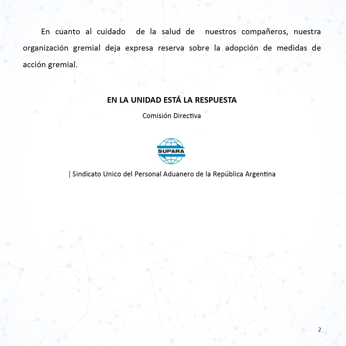 2021 04 12 URGENTE REUNIÓN DEL COMITE DE CRISIS 2